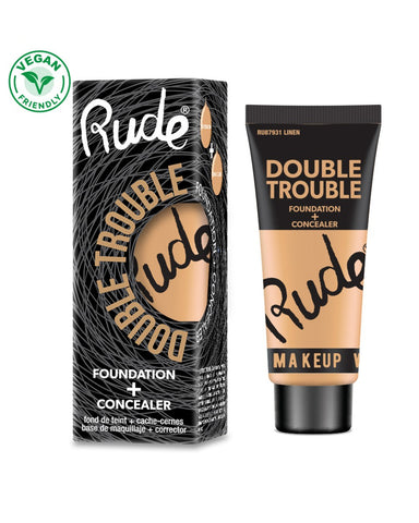 Double Trouble Foundation + Concealer - 4 өнгө
