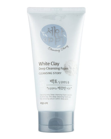 Cleansing Story White Clay Foam Cleanser 150гр