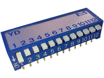 Martin 05500003 DIP switch Piano type 12 bit D