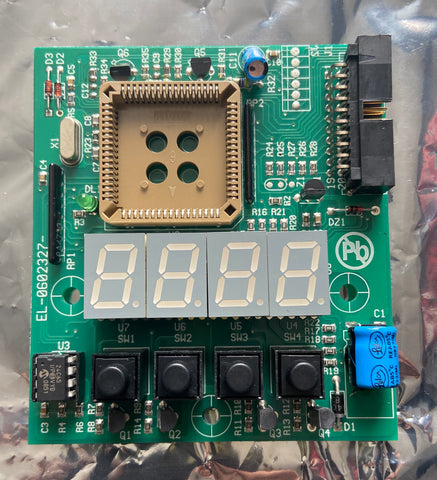 Coemar EL0602327 PCB DISPLAY SCHEDA DISPLAY CON PWM