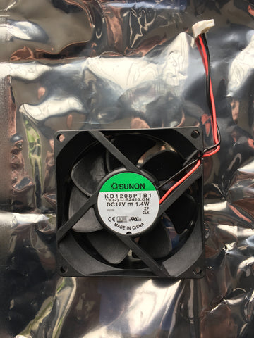 Martin MAC 250 Head Fan 12V DC 3` High speed 62222042 KD1208PTB1 13.(2).U.B2416.GN