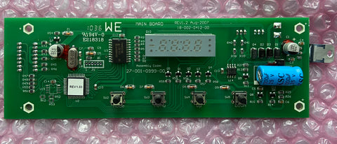 Showtec Sunstrip Active DMX Control panel PCB SPBOT218