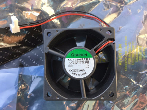 MARTIN MAC 250 WASH HEAD FAN Fan 12V DC 2.25 w. plug 11cm KD1206PTB1 12V 2.3W 62222049