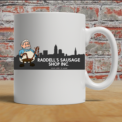 Raddell's Sausage Shop Coffee Mug