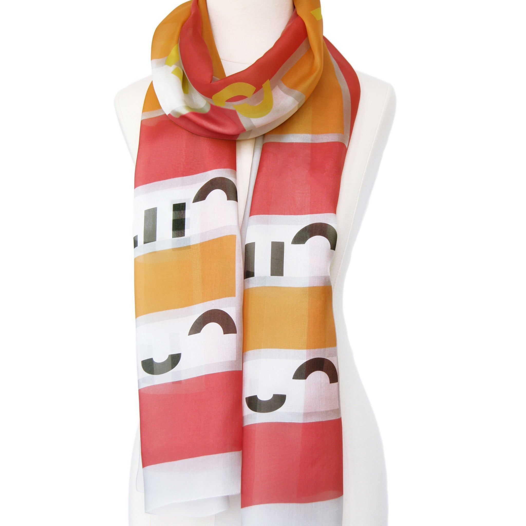In-a-word Scarf: CUTE