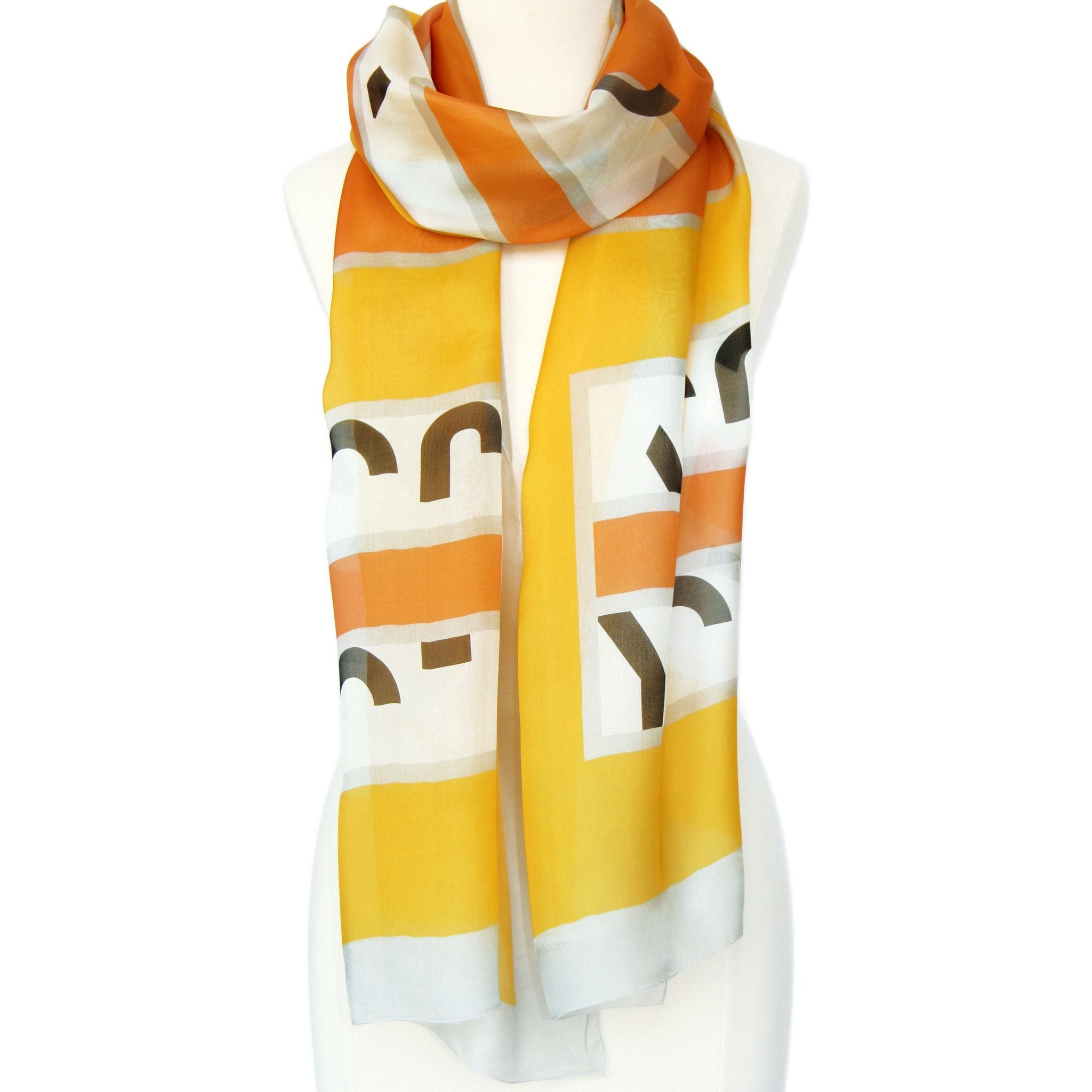 In A Word Scarf: JOY