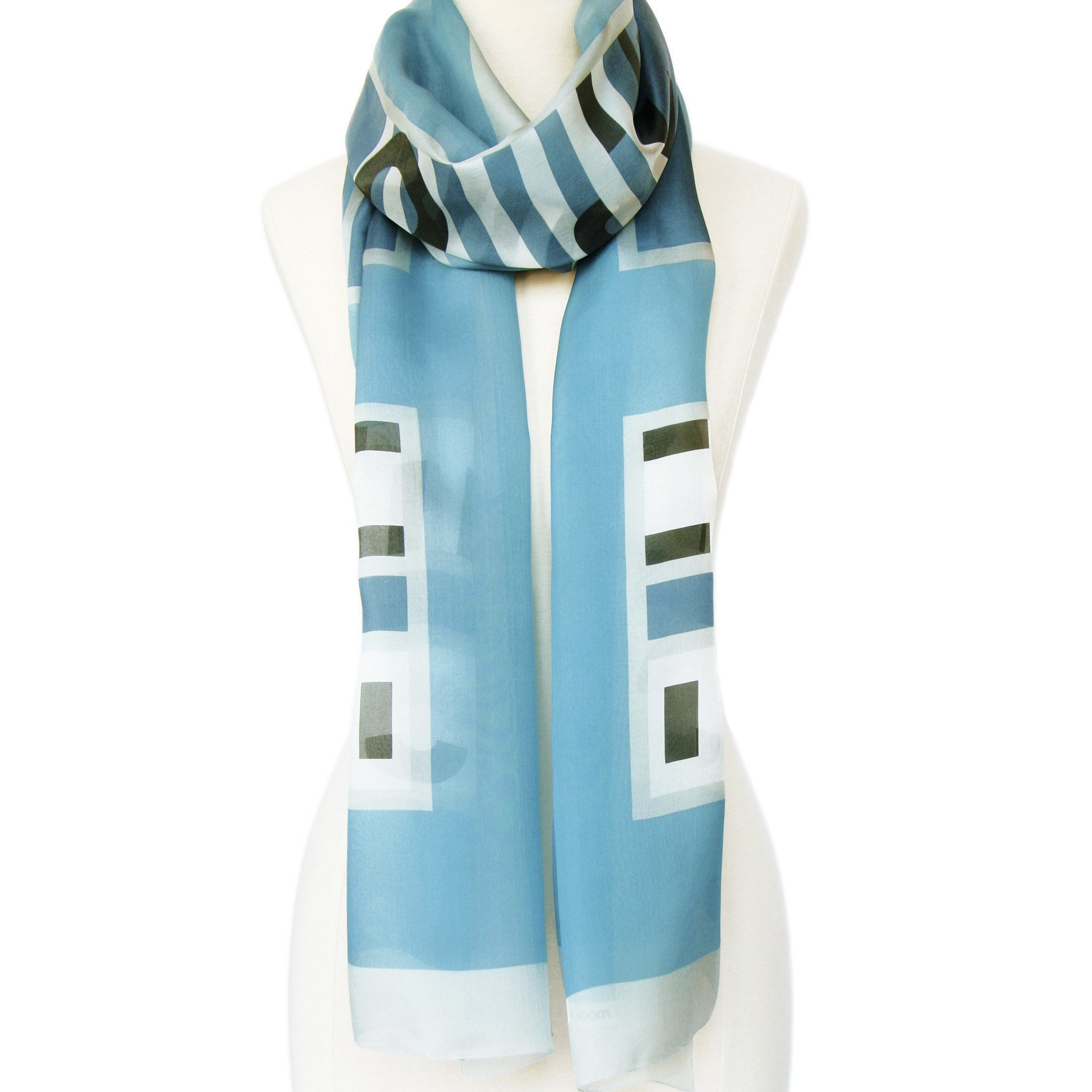 In-a-word Scarf: OUI