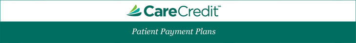 CareCredit Payment Options Available