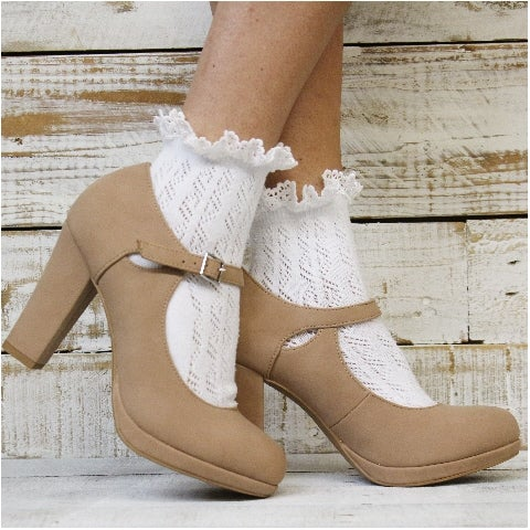 cute lace socks booties