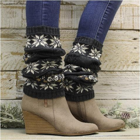 leg warmers for boots - cashmere legwarmers
