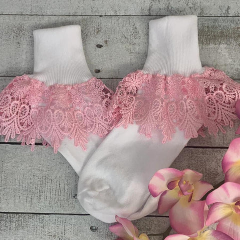 lace socks for booties - socks for women spring
