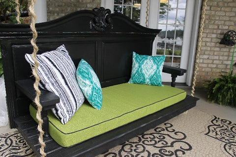 handmade bed porch swing