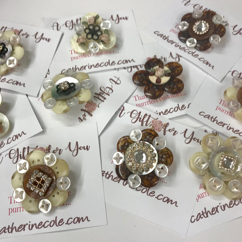 button jewelry crafting diy