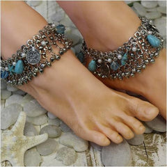 starfish mermaid ankle bracelet