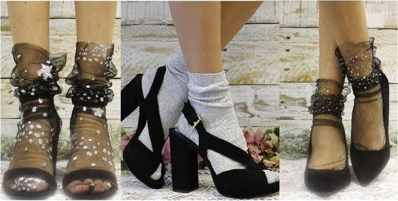 lace socks for women - trendy socks