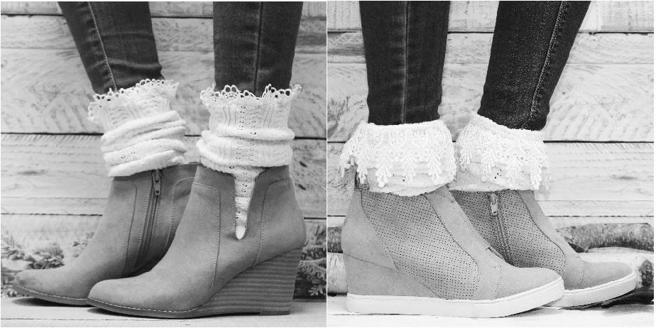 short boot socks - ankle boot socks women
