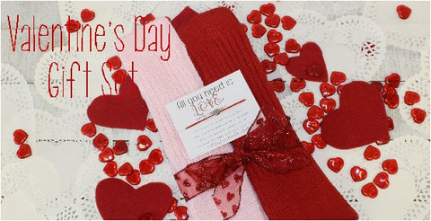 valentine's day gifts for women - fun sweetheart socks and gifts