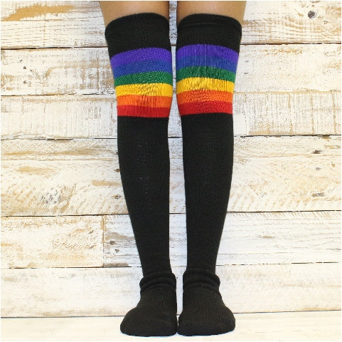 Rainbow Socks | Cute, Colorful Striped Novelty Sock Styles