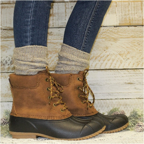 ALPINE slouch boot socks -  oatmeal - Catherine Cole Studio