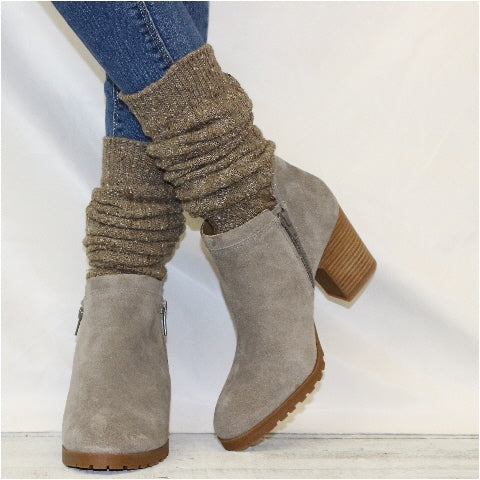 ALPINE slouch boot socks -  brown etsy grace slouch women