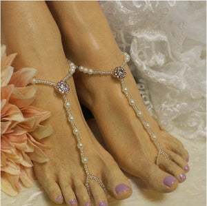 rose gold feet jewely womens etsy handmade best style beach bridal