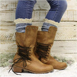 organic socks tall women boots denim blue