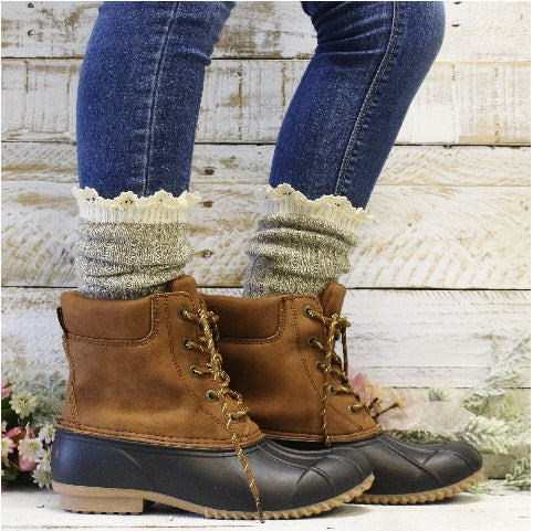 ECO organic boot socks women's cotton USA etsy