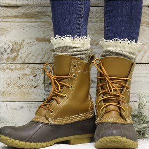 organic soft boot socks for winter ladies