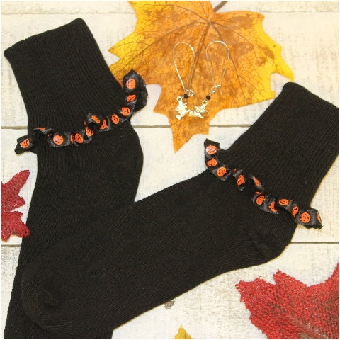 halloween socks women's fun cute novelty holiday socks USA