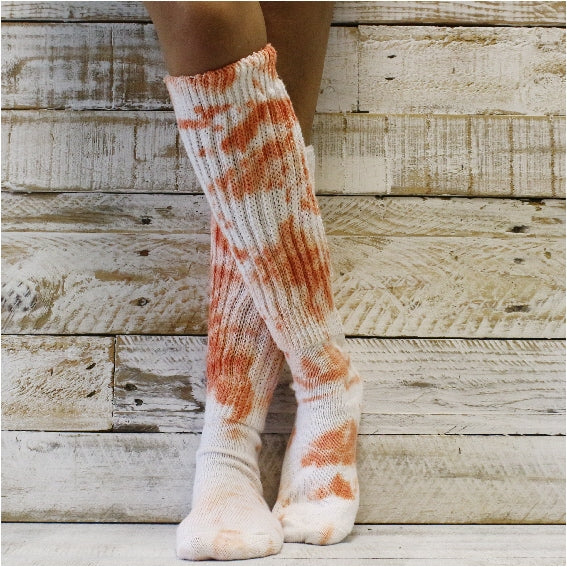hooters cotton socks tie dyed women etsy nike best usa
