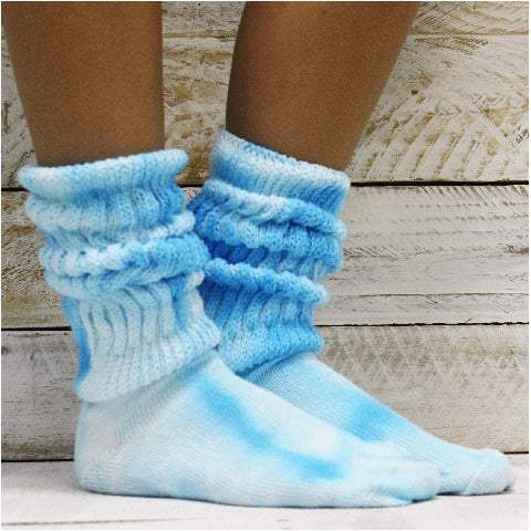 hooters cotton socks tie dyed women