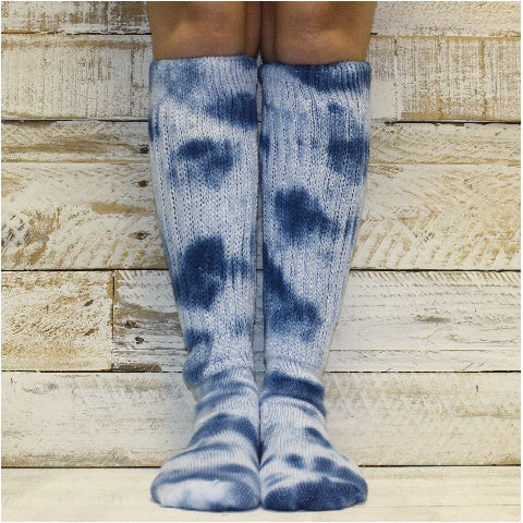 tie dye clothing socks women cotton HOOTERS bestetsy