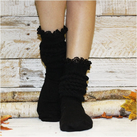 hooters socks slouchy women