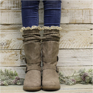 boot socks for women brown Tahoe