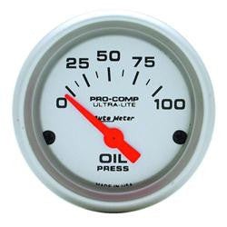 AutoMeter Ultra-Lite Oil Gauge