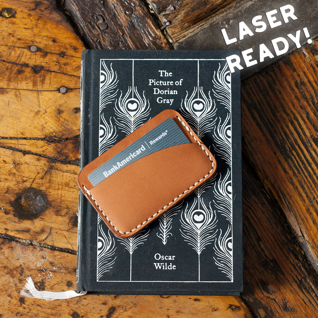 Leather 3-Pocket Card Holder Full Set (Laser Ready Files)