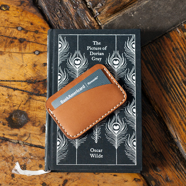 Leather Card Holder 3 Pocket Acrylic Template Makesupply