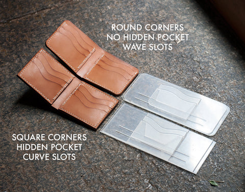 Modern Bi-Fold Wallet - Build Your Own Template Set