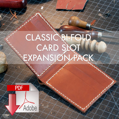 Classic Bi-Fold Wallet Expansion Pack - Card Slots (8.5 x 11)