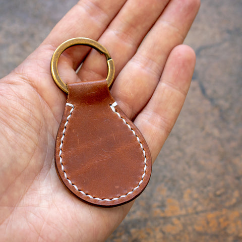 Classic Leather Key Fob Acrylic Template