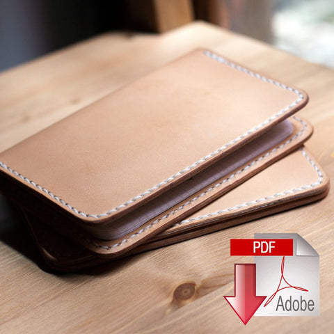 PDF BUNDLE -- Passport Cover / Field Notes Case / Vertical Bi-Fold / 5 Pocket Card Wallet