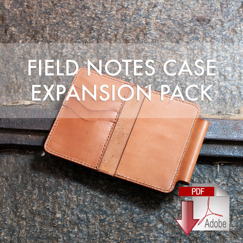 Field Notes Case Expansion Pack Digital Template (A4)