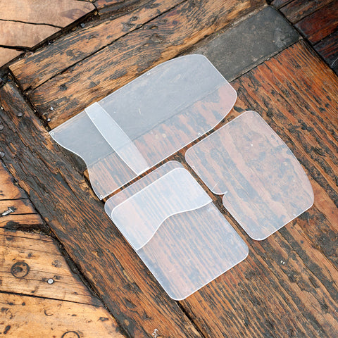 BUNDLE -- Flap Wallet / Folded Card Holder / Slim Card Wallet