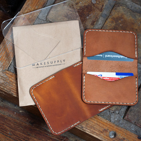 BUNDLE -- Minfold Wallet / Folded Card Holder / 3-Pocket Card Wallet