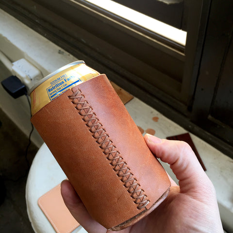 Leather Beer / Drink Holder Acrylic Template