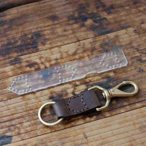 BUNDLE -- Leather Keychain Set