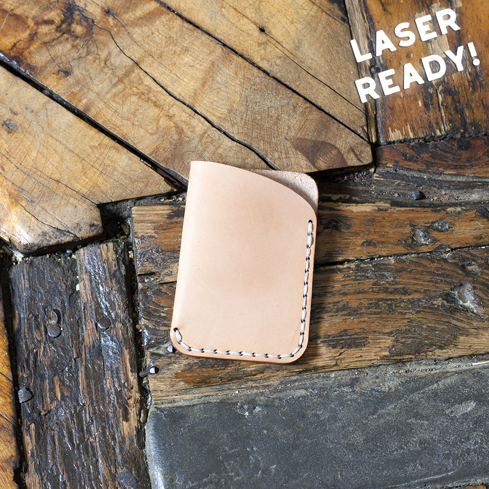 Leather Slim Card Holder (Laser Ready Files)
