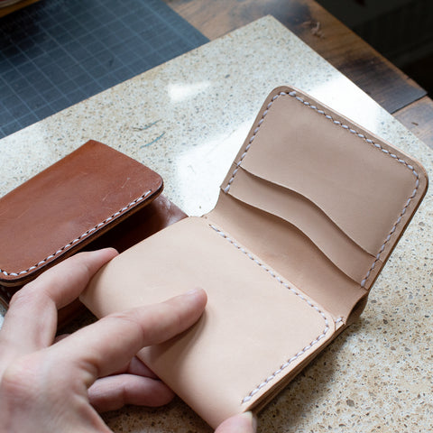 Leather Tri-Fold Wallet Acrylic Template Set
