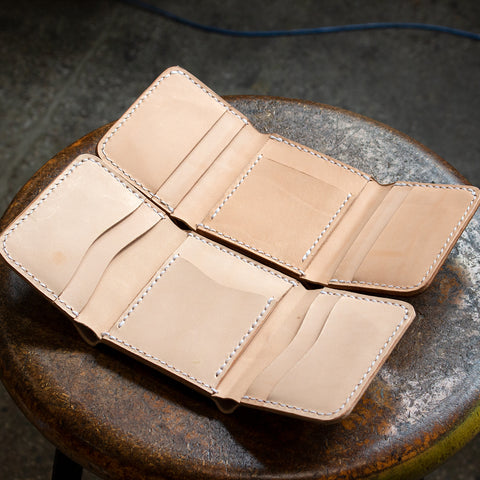 Leather Tri-Fold Wallet (Laser Ready Files)