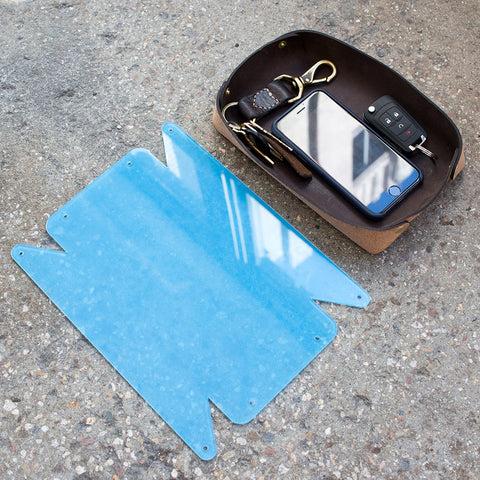 Leather Valet Tray Acrylic Template